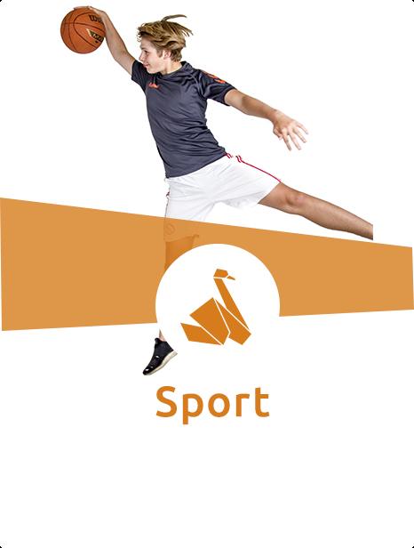Kom og prøv kræfter med mange forskellige slags sport her på Svenstrup Efterskole
